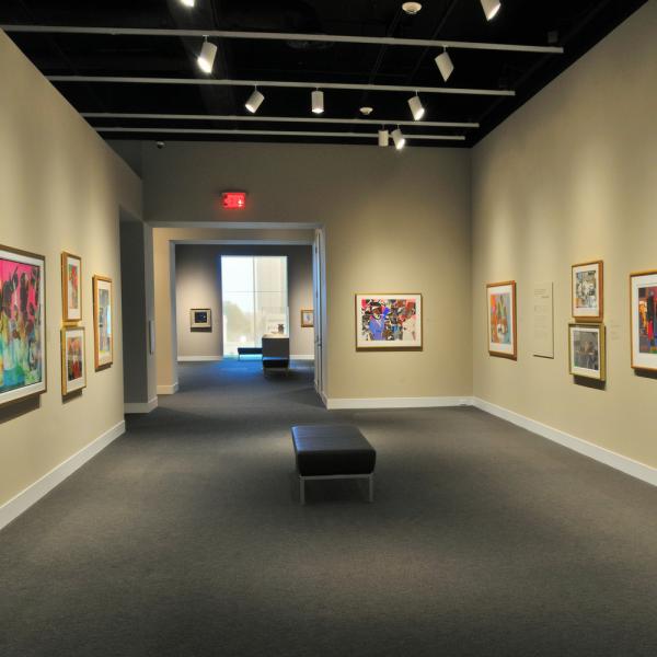 Romare Bearden Gallery: Sing on Canvas